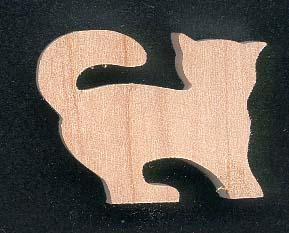 Objets en bois d coup s d corer peindre figurine - Rond de serviette en bois a decorer ...