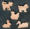 petits objets en bois à peindre