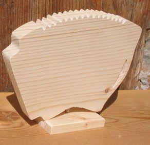 accordeon monté sur socle deco theme musique