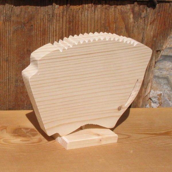 accordeon monté sur socle deco theme musique bois massif fait main