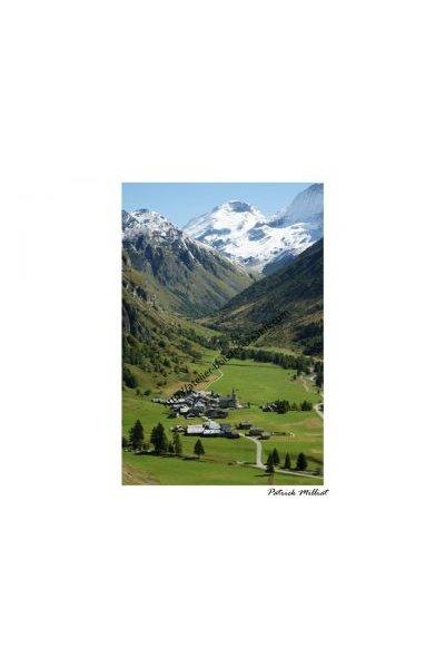 Carte postale Le Bois Champagny le Haut en vanoise