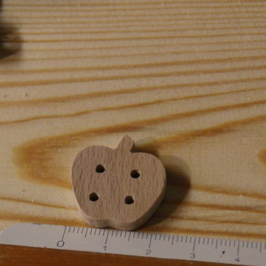 Bouton pomme 22mm