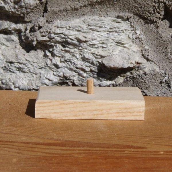 Bugle en bois massif ht 20 cm décoration theme musique fait main cadeau musicien tubiste