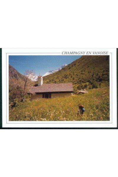Carte postale Champagny le Haut Chapelle de Friburge