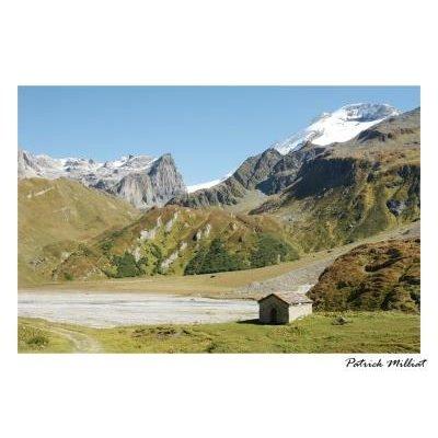 Carte postale Le lac de la Gliere, Champagny en vanoise en été
