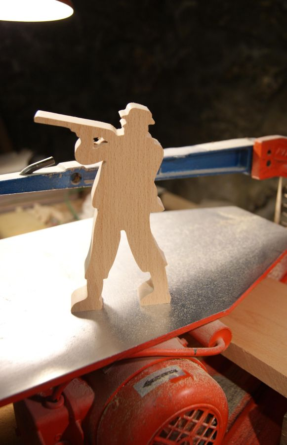 cmde speciale firmin chasseur par 3 ep 20mm fabrication artisanale