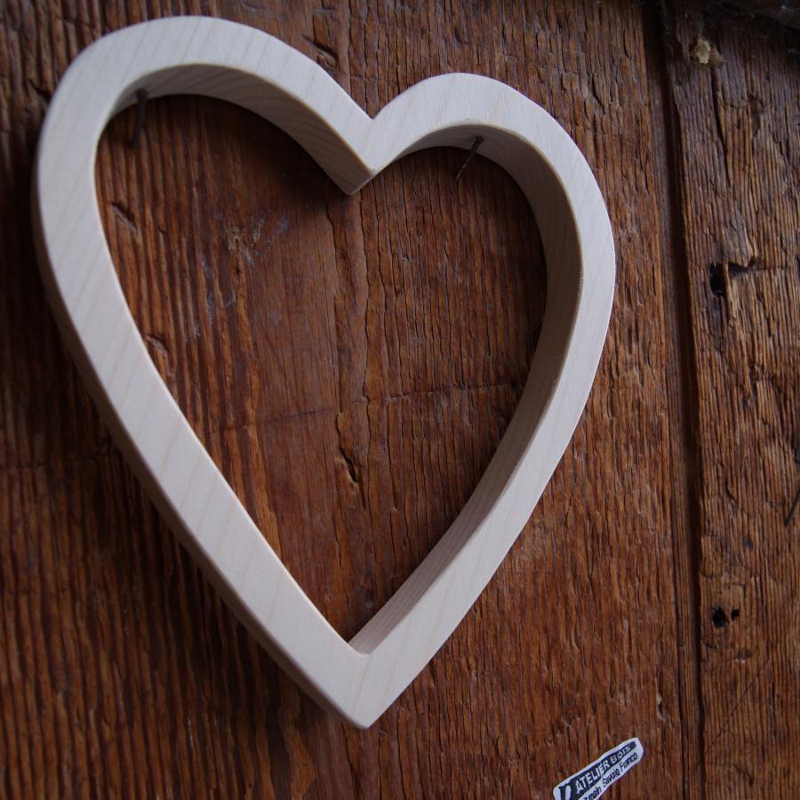 coeur en bois vid porte alliance en bois mariage. Black Bedroom Furniture Sets. Home Design Ideas