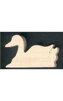 figurine canard 3mm à peindre, à coller miniature loisirs créatifs