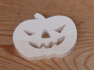 figurine citouille d' halloween 3mm a peindre et a coller
