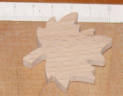 figurine feuille d'érable à décorer et à coller