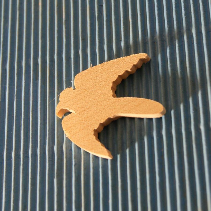 figurine oiseau, colombe 3mm en bois massif a decorer, embellissement scrap nature animaux