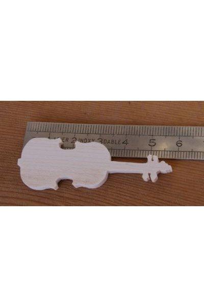 Figurine violon ht 6cm a coller
