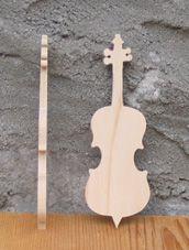 Figurine violoncelle lg 9cm ep 3mm
