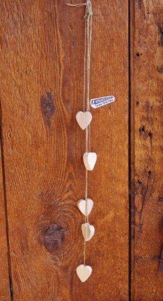 Guirlande coeurs decoration d'interieur, de mariage