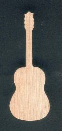 Guitare montée en broche
