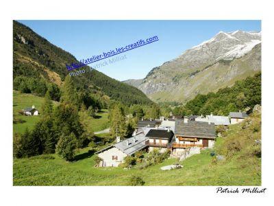 Carte postale Hameau de Friburge  Champagny le Haut en été