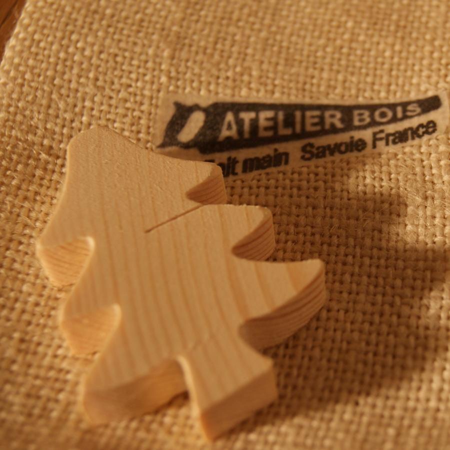 Marque place sapin en bois d'épicéa massif, réutilisable, à décorer, par 10, porte nom table de noel  mariage theme  nature montagne foret arbre fait main