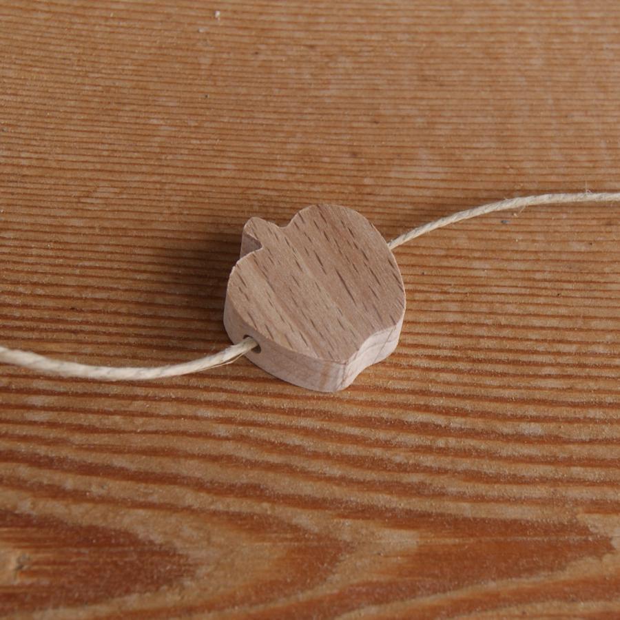 perle bois naturel perle bois pomme H a decorer collier  ~ Bareme De Cubage Bois
