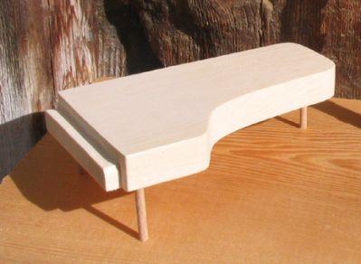 piano a queue longueur 20 cm decoration mariage theme musique