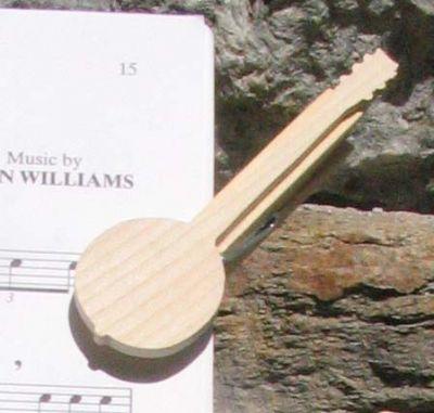 pince à partition banjo