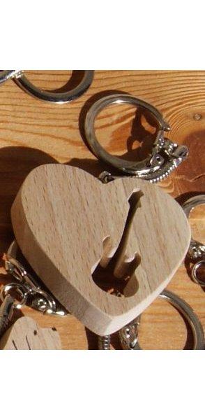 porte clef coeur et guitare electrique ou basse, cadeau personnalisé guitariste fait main