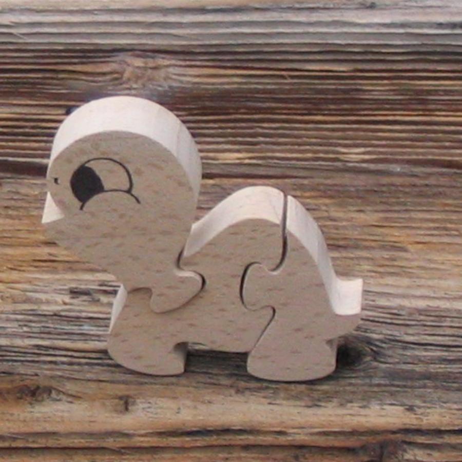 puzzle en bois tortue 3 pi ces hetre massif fait main. Black Bedroom Furniture Sets. Home Design Ideas