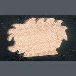Figurine herisson, miniature en bois massif theme  foret, nature, fait main, embellissement scrapbooking