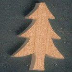 figurine miniature sapin 3mm a décorer et a coller décoration embellissement scrap nature, foret, arbre, montagne, noel