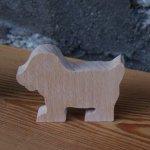 marque place chien mariage theme animaux ou ferme bois massif fait main