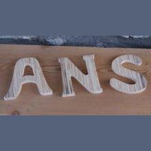 lettres ANS ht 10 cm pour anniversaire