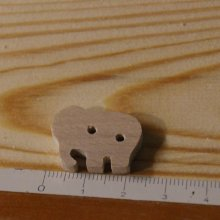 Bouton elephant 22mm