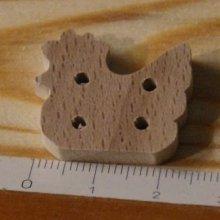 Bouton poule 25mm