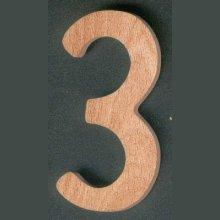 Chiffre 3 ht 8cm