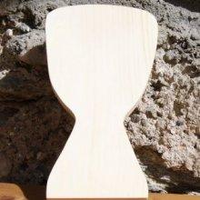 Djembé en bois massif ht 20 cm, fait main decoration musicale, a poser ou a suspendre