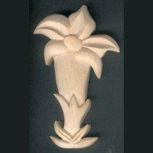 Gentiane découpée sculptée cirée nature