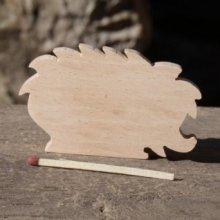 marque place herisson mariage theme foret ou nature bois de hetre massif fait main