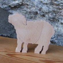 marque place mouton mariage theme animaux de la ferme