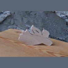 Ange en bois, decoration de Noel
