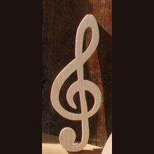clef de sol en bois massif ht 20 cm decoration interieur musique