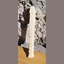 Flute a bec en bois 15cm, fabrication artisanale
