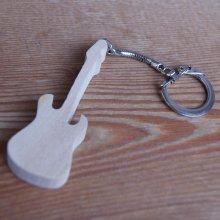 porte clef guitare electrique