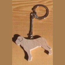 porte clef chien Saint Bernard ou golden retriever