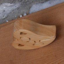 puzzle coeur 2 pieces en bois