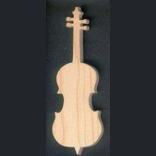 violoncelle en bois 15 cm décoration musicale, fait main