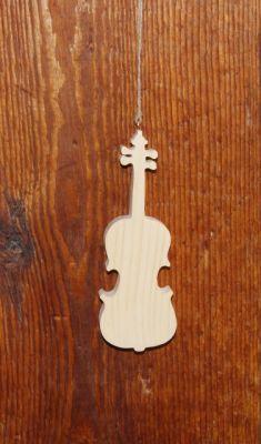 violon en bois ht15cm, déco musicale, cadeau musicien, fabrication artisanale