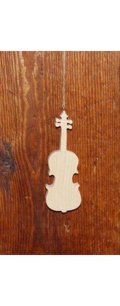 violon en bois ht20cm decoration d'interieur