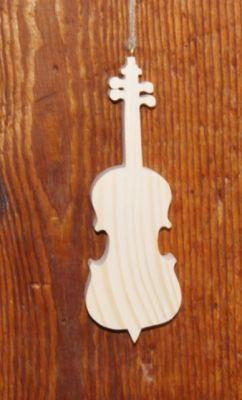 violoncelle en bois ht 20 cm decoration d'interieur, déco de table, cadeau musicien, fait main
